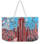 New York Urban Colors 2 Weekender Tote Bag