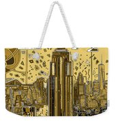 New York Urban Colors 3 Weekender Tote Bag