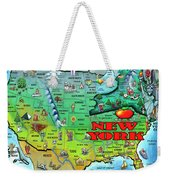 New York Usa Weekender Tote Bag
