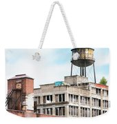 New York Water Towers 18 - Greenpoint Water Tower Weekender Tote Bag by Gary Heller