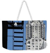 New York Watercolor 3 Weekender Tote Bag