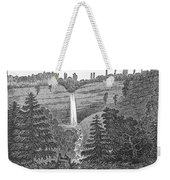 New York: Waterfall Weekender Tote Bag