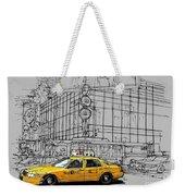 New York Yellow Cab Weekender Tote Bag