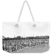 New Yorkers At Coney Island. Weekender Tote Bag