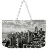 New Your City Skyline Weekender Tote Bag