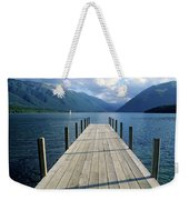 New Zealand Dock Weekender Tote Bag