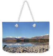 New Zealand Lake Weekender Tote Bag