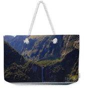 New Zealand Stirling Falls In Hanging Valley Weekender Tote Bag