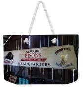Newark Bisons Weekender Tote Bag