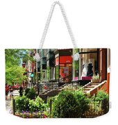 Newberry Street Spring Weekender Tote Bag