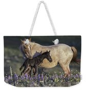 Newborn Filly At Dawn Weekender Tote Bag