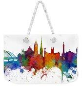 Newcastle England Skyline Custom Panoramic Weekender Tote Bag