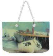 Newfoundland Fishing Port Impressions Weekender Tote Bag