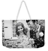 Newlyweds Showered With Rice, C.1960-70s Weekender Tote Bag