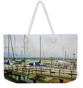 Newport Bay And Balboa Island Weekender Tote Bag