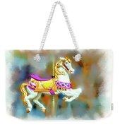Newport Beach Carousel Horse Weekender Tote Bag