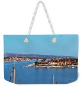 Newport Beach Harbor At Dusk Weekender Tote Bag