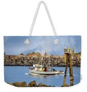 Newport Oregon - Coastal Fishing Weekender Tote Bag