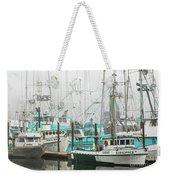 Newport, Oregon Fishing Fleet Weekender Tote Bag