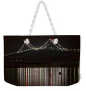 Newport Pell Bridge Weekender Tote Bag