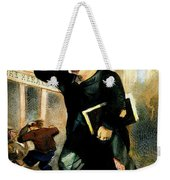 Newsboy Shouting, 1847 Weekender Tote Bag