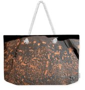 Newspaper Rock Weekender Tote Bag