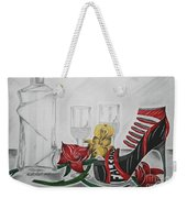 Nfl Falcons Stiletto Weekender Tote Bag