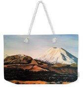 Ngauruhoe Rising Weekender Tote Bag