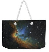 Ngc 7380 In Hubble-palette Colors Weekender Tote Bag by Rolf Geissinger