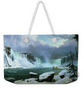 Niagara Falls Weekender Tote Bag by Hippolyte Victor Valentin Sebron