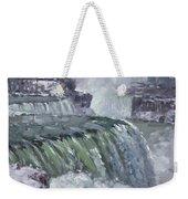 Niagara Falls In Winter  Weekender Tote Bag