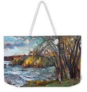 Niagara Falls Lake Weekender Tote Bag