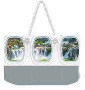 Niagara Falls Porthole Windows Weekender Tote Bag