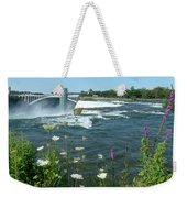 Niagara Falls Usa - Photo Weekender Tote Bag