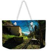 Niasca Hermitage I Portofino Park Passeggiate A Levante Weekender Tote Bag