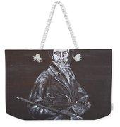 Niccolo Paganini Weekender Tote Bag