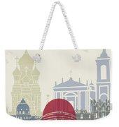 Nice Skyline Poster Weekender Tote Bag