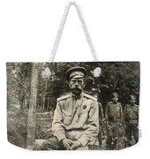 Nicholas II (1868-1918) Weekender Tote Bag