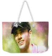 Nick Dougherty In The Golf Trophee Hassan II In Morocco Weekender Tote Bag