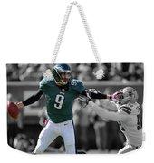 Nick Foles Eagles Super Bowl 2 Weekender Tote Bag