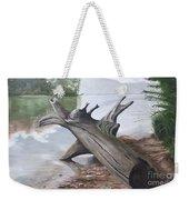 Nickajack Driftwood Weekender Tote Bag