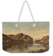 Nielsen, Amaldus Clarin 1838-1932 Morning, Ny-hellesund 1909 Weekender Tote Bag