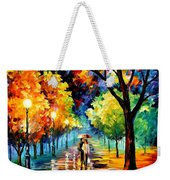 Night Alley Weekender Tote Bag