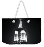 Night At The Empire State Building Weekender Tote Bag