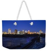 Night At The Floodwall 2 Weekender Tote Bag