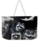 Night Bandits Weekender Tote Bag
