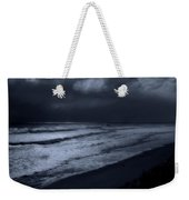 Night Beach - Jersey Shore Weekender Tote Bag