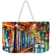 Night Cafe Weekender Tote Bag