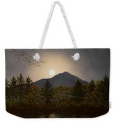 Night Calls Weekender Tote Bag