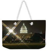 Night Capitol Weekender Tote Bag